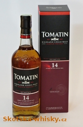 Tomatin  14 y.o . Port Wood Finish